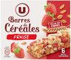 Barres céréales blé complet fraise - Produit