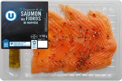 Carpaccio de saumon - Produit - fr