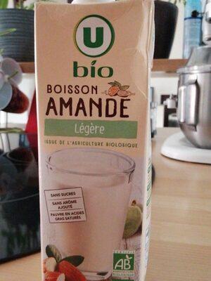 Boisson amande légère - Produit - fr