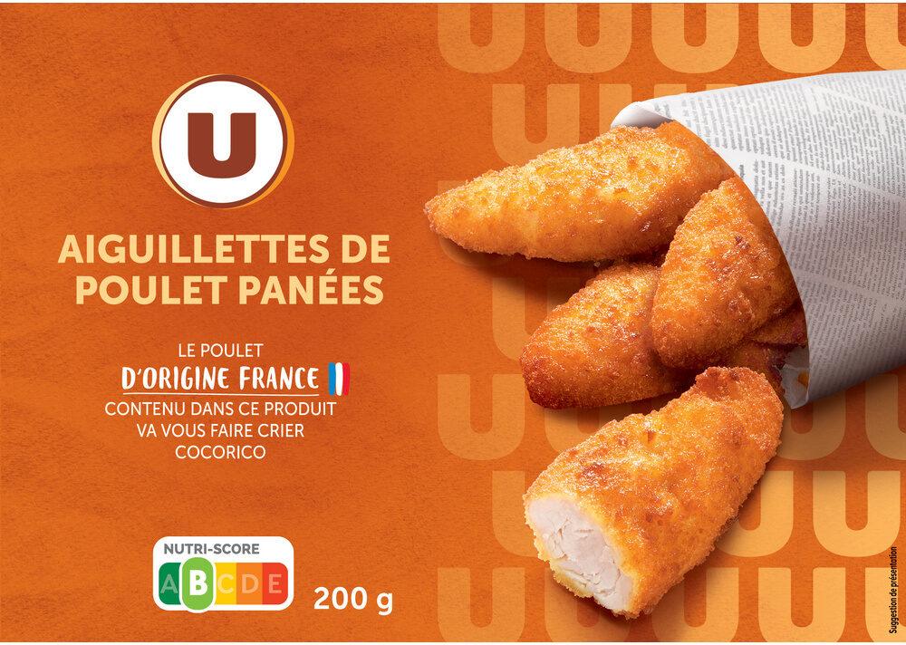 Aiguillette de poulet panée - Produit - fr
