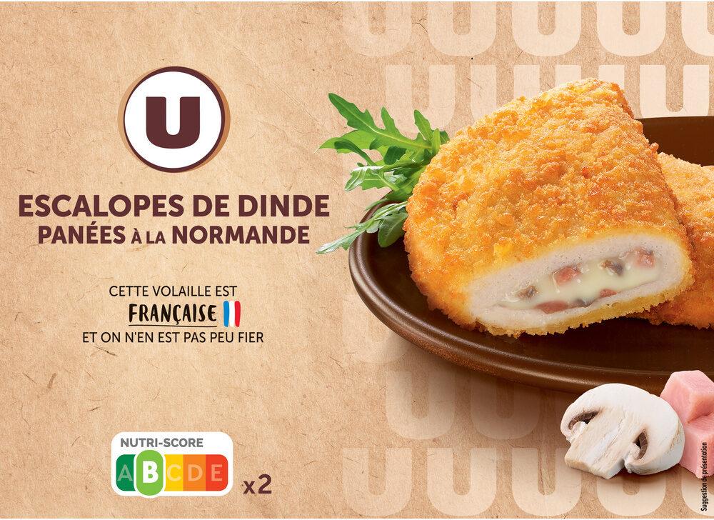 Escalope de dinde panée à la normande - Produit - fr