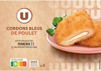 Cordon bleu de poulet - Produit - fr