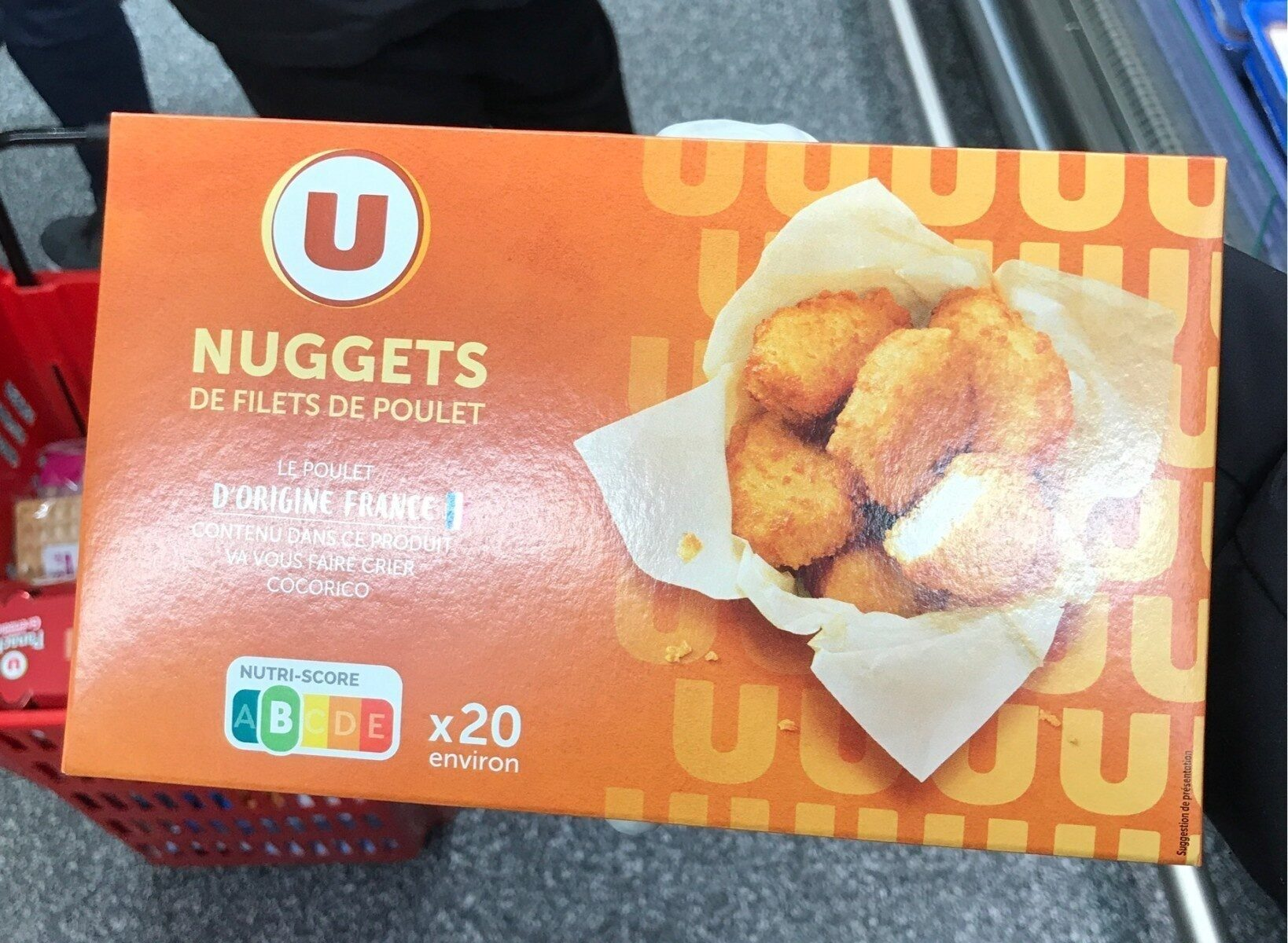Nuggets de filet de poulet - Produit - fr
