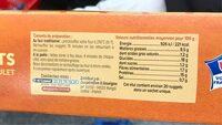 Nuggets de filet de poulet - Informations nutritionnelles - fr