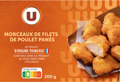 Morceaux de filets de poulet panés - Produit - fr