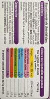 Bâtonnets au chocolat blanc - Informations nutritionnelles - fr