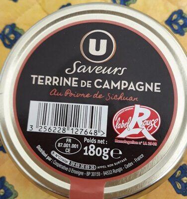 Terrine de cerf aux cranberries - Produit - fr