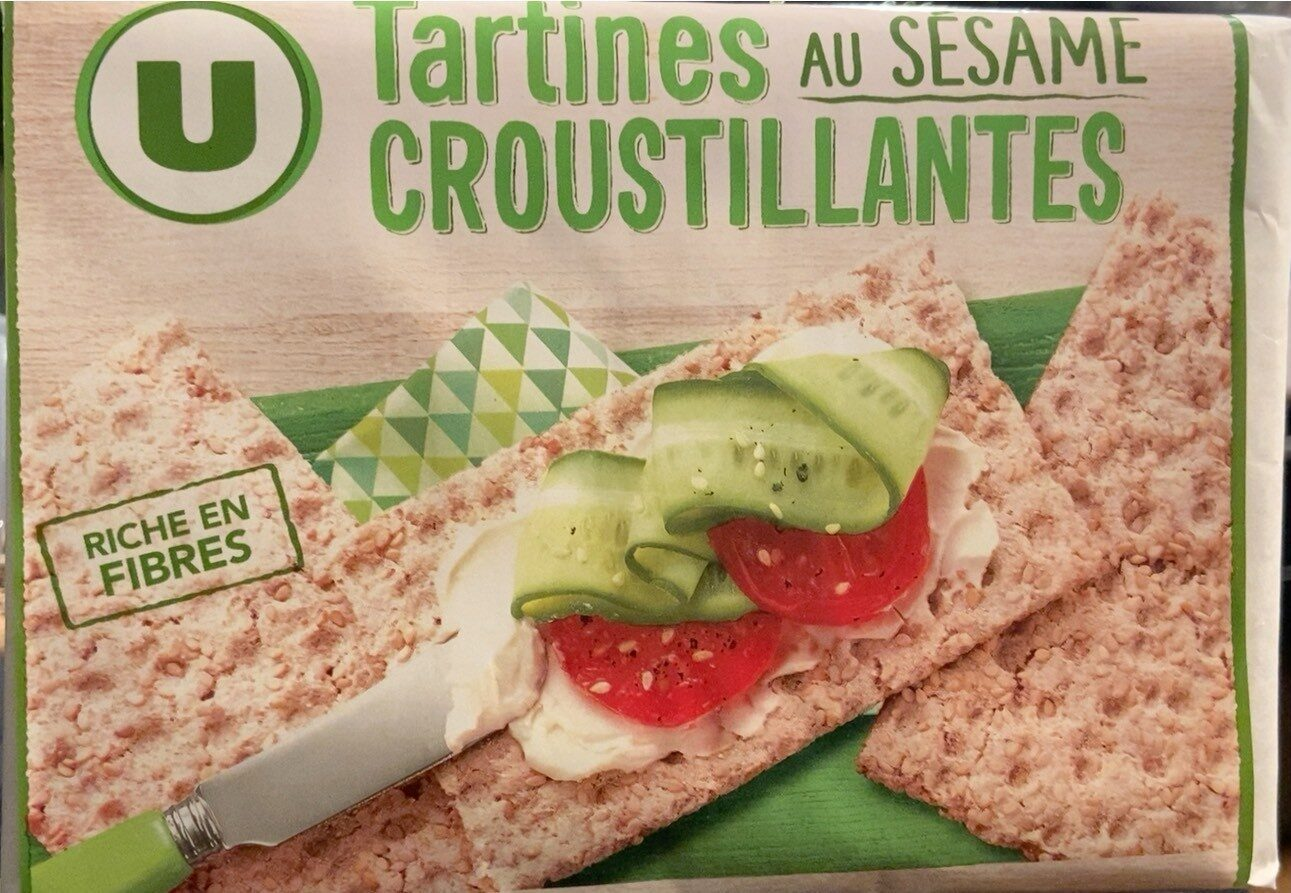Tartines croustillantes au sésame - Prodotto - fr