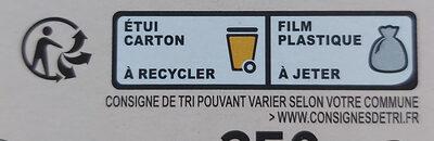 bâtonnets panés à la mozzarella - Istruzioni per il riciclaggio e/o informazioni sull'imballaggio - fr
