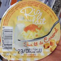 Riz au lait Sur lit de Caramel - Product - fr
