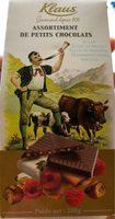 Assortiment de petits chocolats - Product