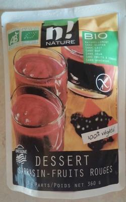 Dessert Sarrasin-Fruits Rouges - Produit