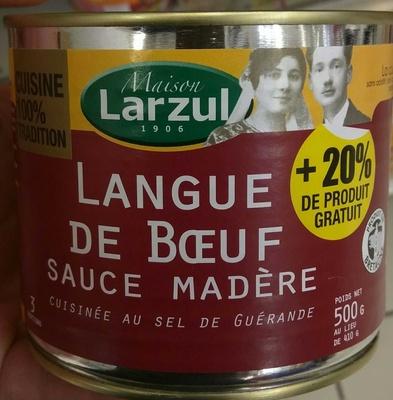 Langue de Boeuf Sauce Madère - Produit - fr