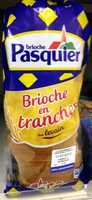 Brioche en tranches au levain - 500 g - Brioche Pasquier - Product
