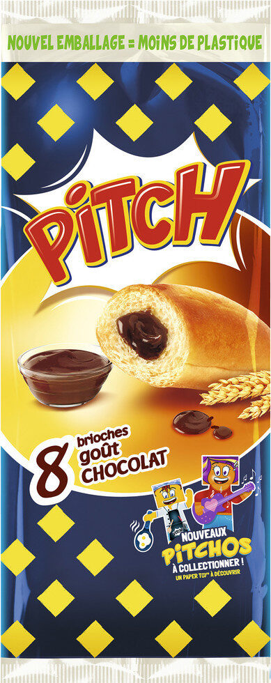 Pitch choco x 8 - Produit - fr