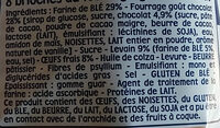 Pitch choco x 8 - Ingrédients - fr