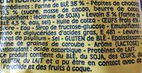Pitch Pépites de Chocolat - Ingredients - fr