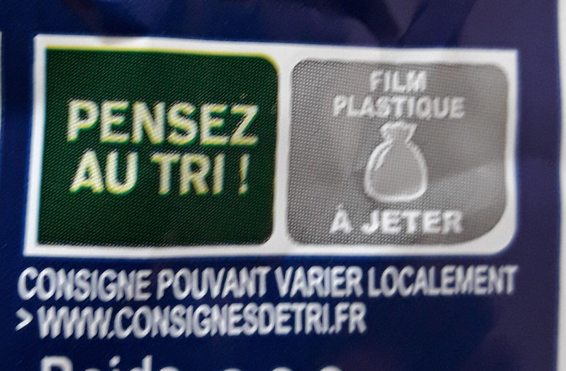 Pitch Pépites de Chocolat - Instruction de recyclage et/ou information d'emballage - fr