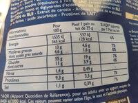 Pains au lait au levain - Informations nutritionnelles - fr