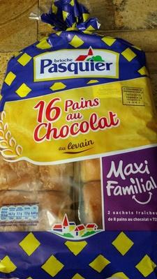 Pains au Chocolat au levain (Maxi Familial) - Produit - fr