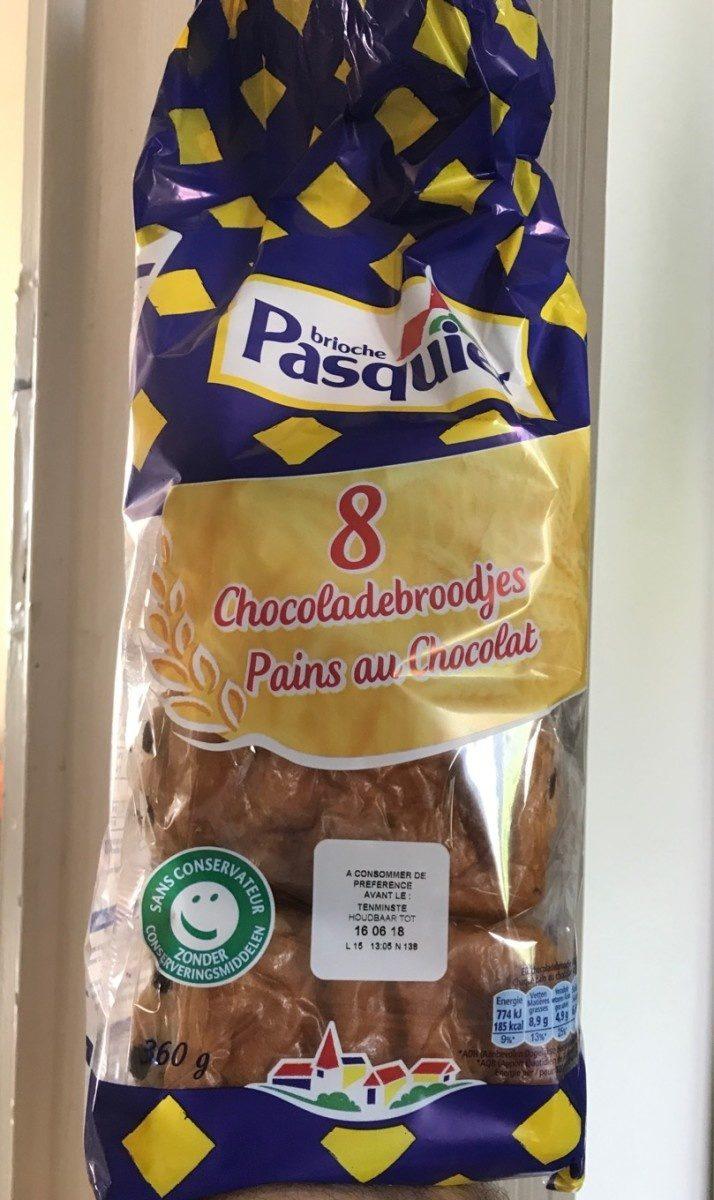 Pains au chocolat pasquier - Product