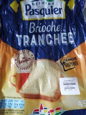 Brioche tranchée - Produit