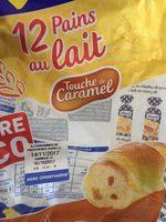 Pains au lait touche de caramel - Produit - fr