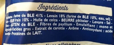 Briochettes - Ingredients