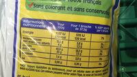 Pitch - Brioches pépites chocolat - Voedingswaarden - fr