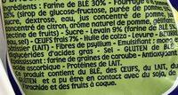 Pitch - Ingrédients - fr