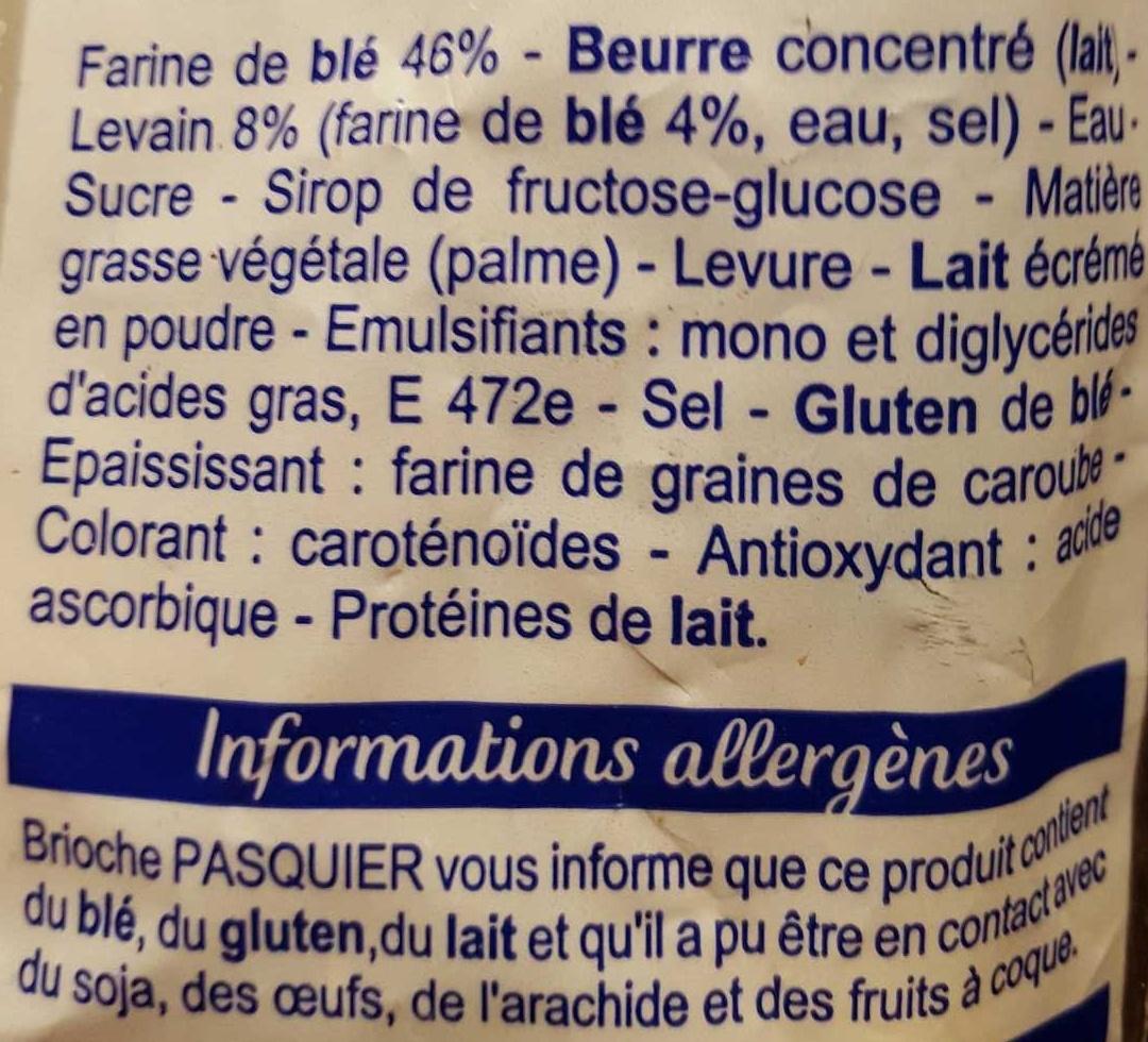 14 Croissants, au levain - Ingredients
