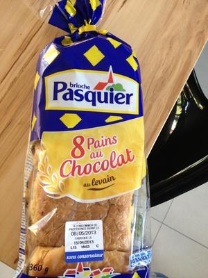 8 pains au chocolat au levain - Product - fr