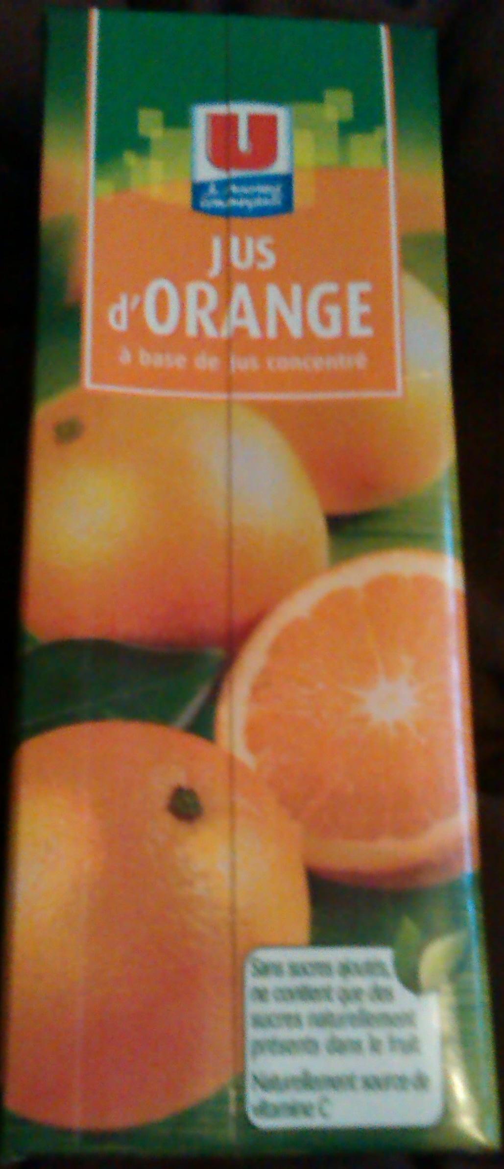 Jus d'orange - Product