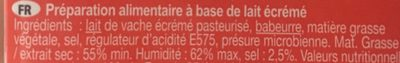 French white 55+ - Ingrediënten