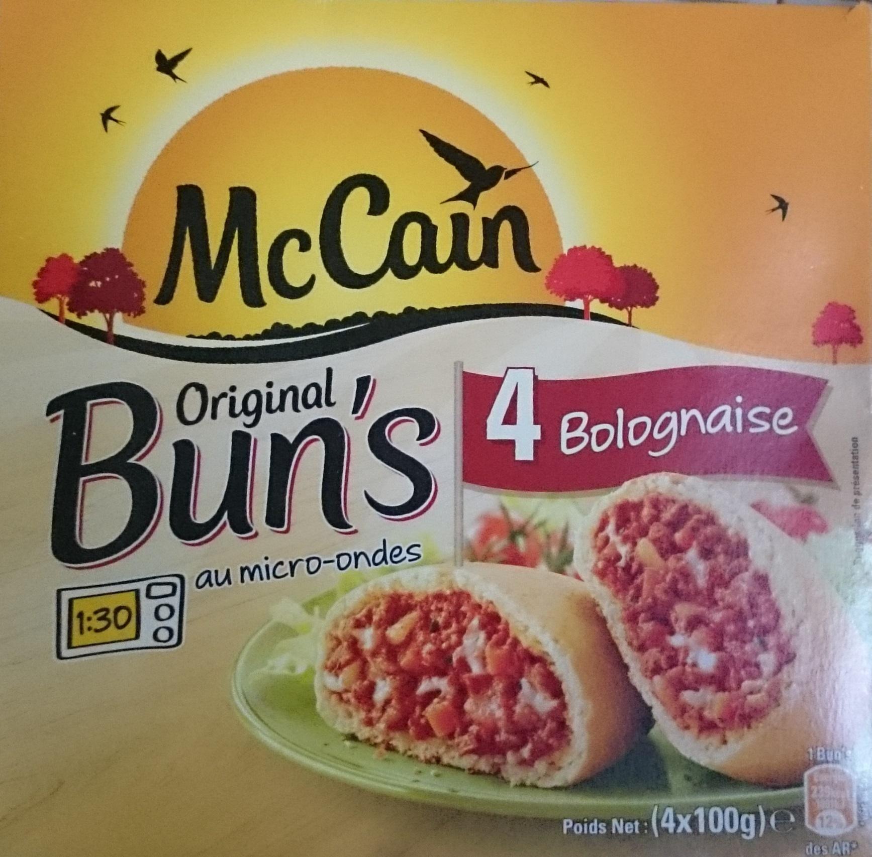 Original Bun's Bolognaise - Product