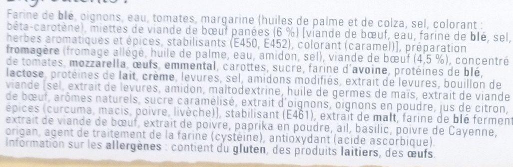 Original Bun's Bolognaise - Ingredients