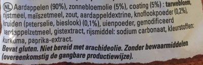 Country Potatoes aux Herbes - Ingrediënten - nl