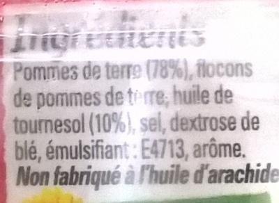 Frit'Up - Ingrédients - fr