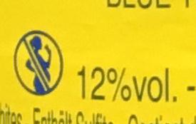 Champagne Blue Top Brut - Informations nutritionnelles