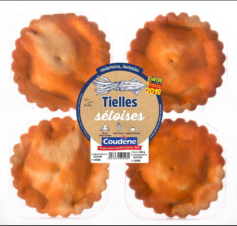 Tielles Sétoises - Product - fr