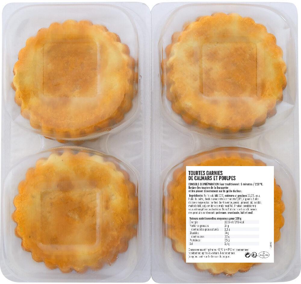 Tielles Sétoises - Ingredients - fr