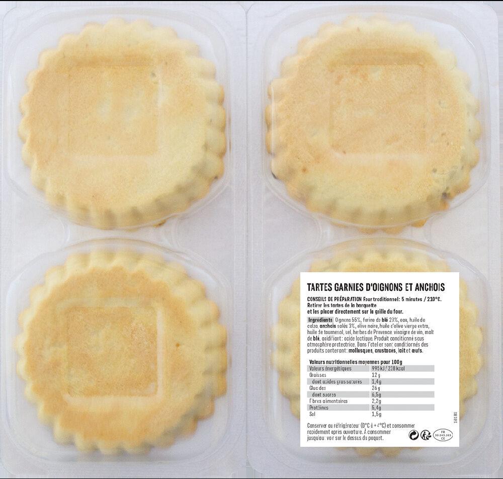 Pissaladières niçoises - Ingrédients - fr