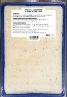 Brandade de morue parmentière Coudène - Nutrition facts
