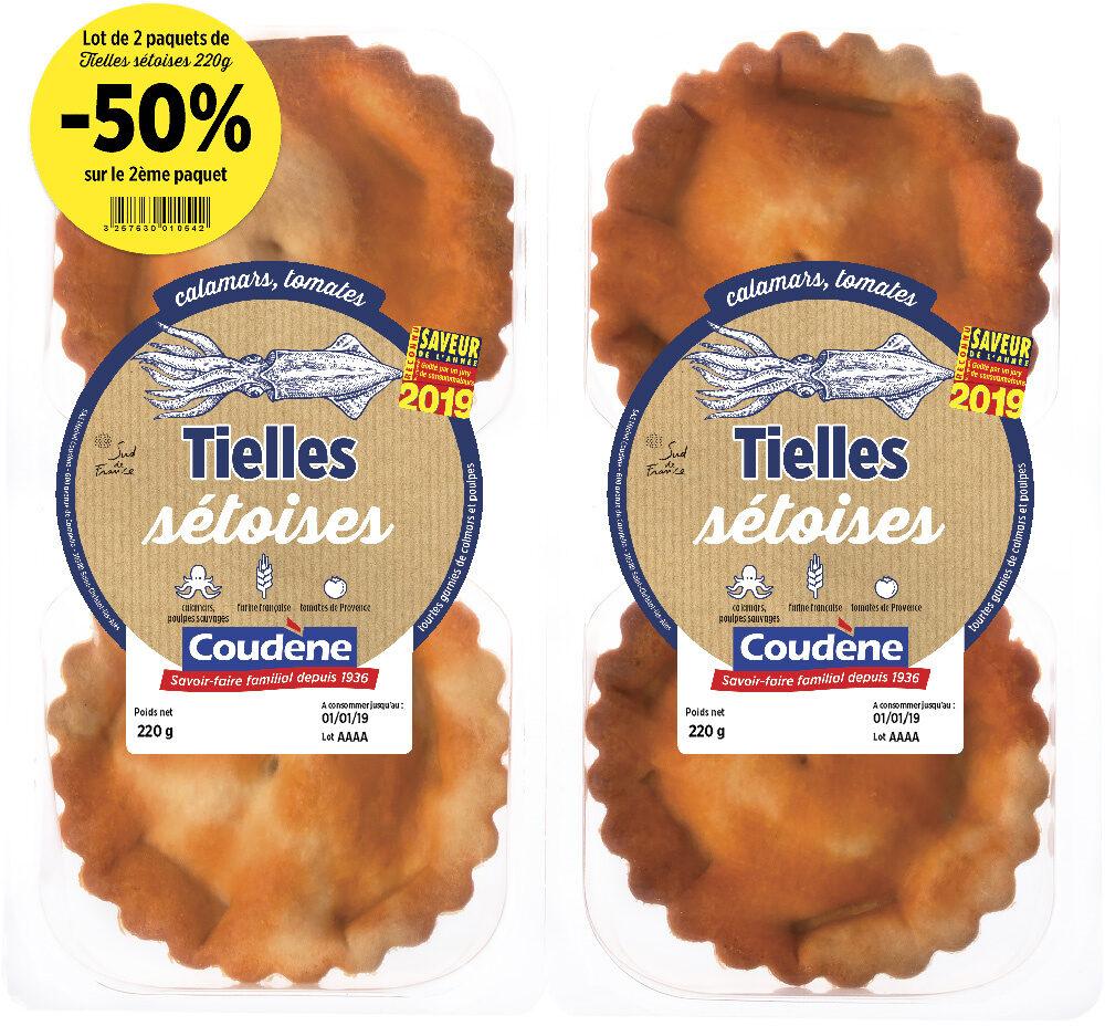 Tielles sétoises Coudène - Product