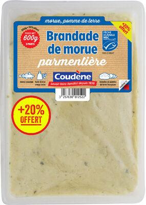 Brandade de morue parmentière Coudène - Product