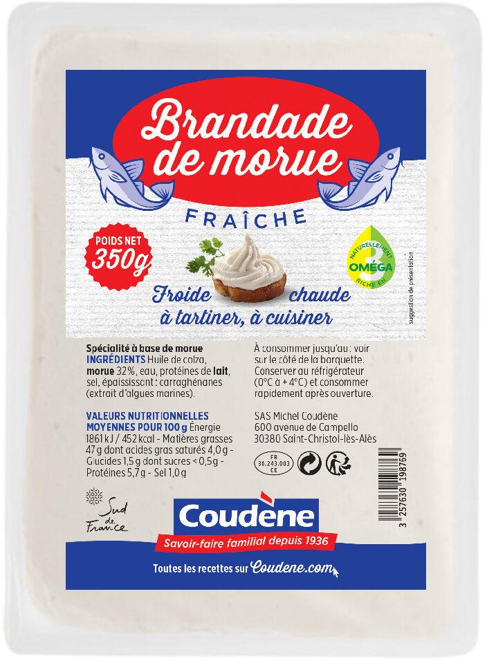 Brandade de morue fraîche Coudène - Product