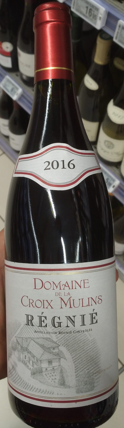 Régnié 2016 - Produit