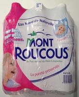 Eau Minérale Naturelle Mont Roucous - Produit - fr
