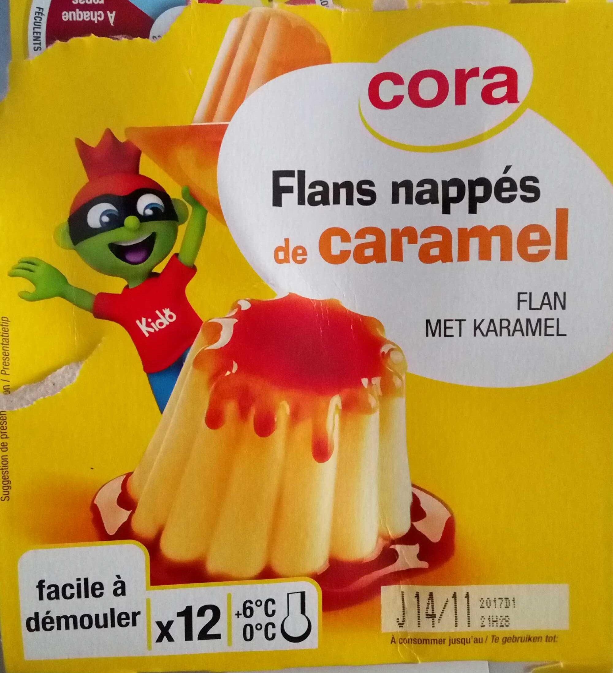 Flans Nappés De Caramel - Product