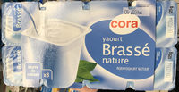 Yaourt Brassé Nature - Produit - fr
